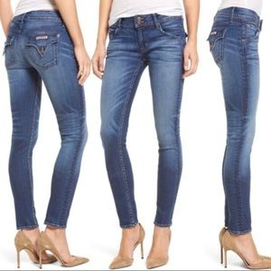 Hudson Collin Flap Skinny Ankle Jeans
